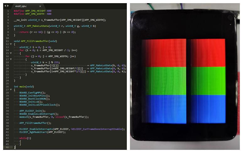 痞子衡嵌入式:纪录i.MXRT1060驱动LCD屏显示横向渐变色有亮点问题解决全过程(提问篇)