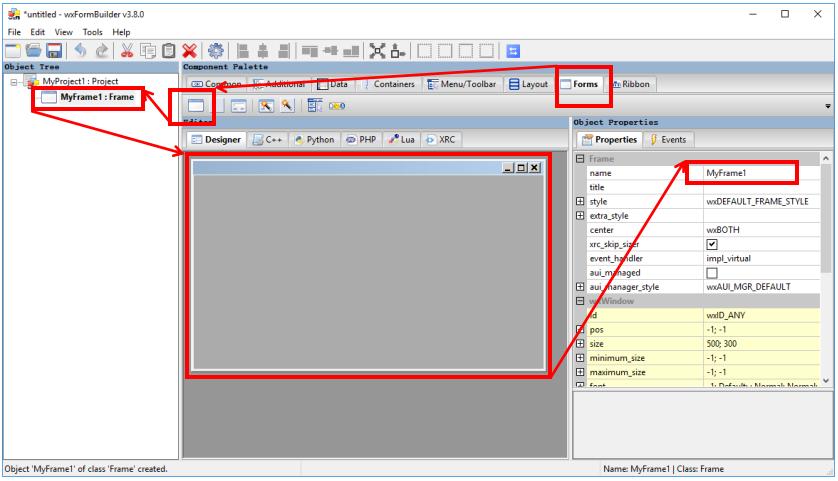 痞子衡嵌入式:极易上手的可视化wxPython GUI构建工具(wxFormBuilder